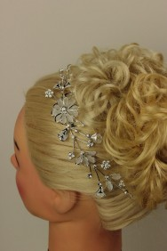 TS0220-1 Flower side hair comb