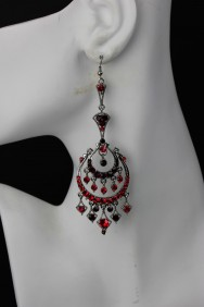ER74 Limited Elegance Red Carpet Hook Earring