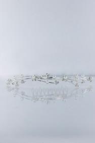 HC4600 Pearl tiara comb