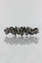 BS5 LEAF STYLE WEDDING HAIR BARRETTE JEWELRY