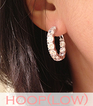 wholesale korea low-end hoop earring